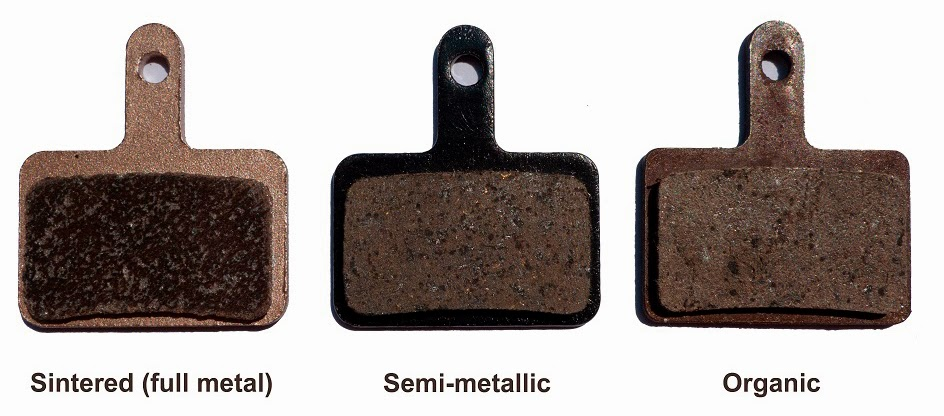 Sintered vs. Organic Brakes