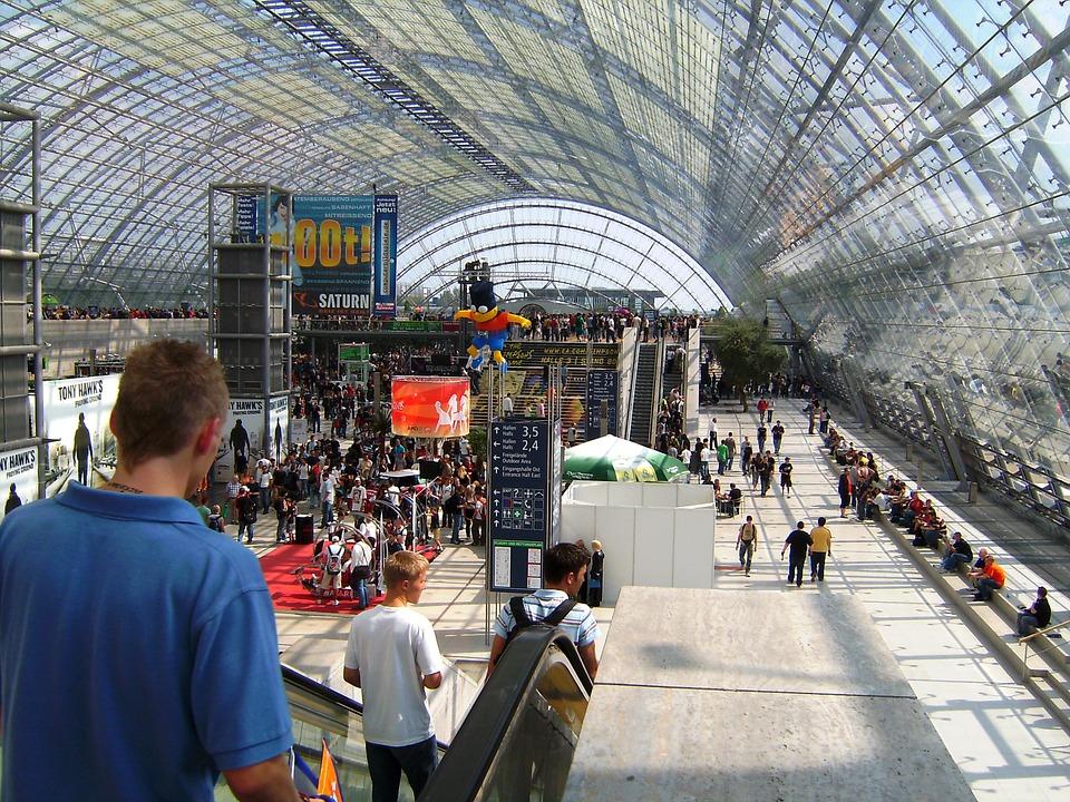 Fair, Expo, Exhibition, Hall, Venue, Leipzig, Germany